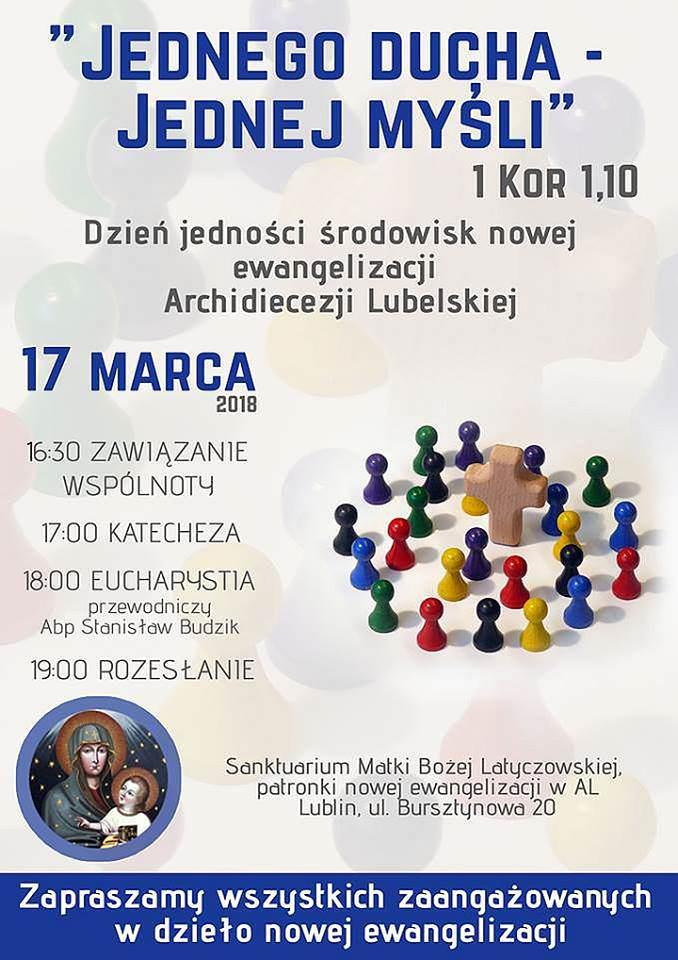 Dzień Jedności środowisk nowej ewangelizacji archidiecezji lubelskiej